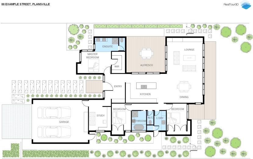Floor plans - RealTour3D
